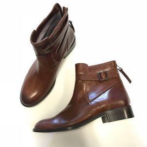 Johnston and Murphy Leather Bootie